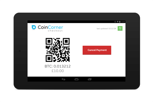 CoinCorner Bitcoin Point Of Sale