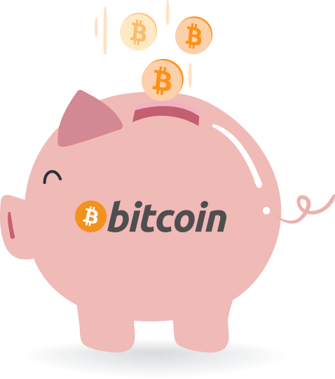 CoinCorner Auto Buy Bitcoin Piggy Bank Image