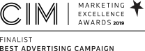 Finalists for Best Advertising Campaign 2019 - Chartered Institute of Marketing