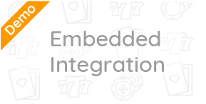 Embedded integration demo to help your business learn how your customers will pay with Bitcoin