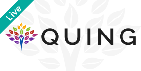Quing charity logo