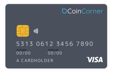 CoinCorner Debit Card